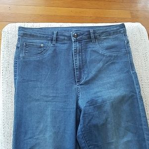 H&M high waisted super skinny jeans, barely worn